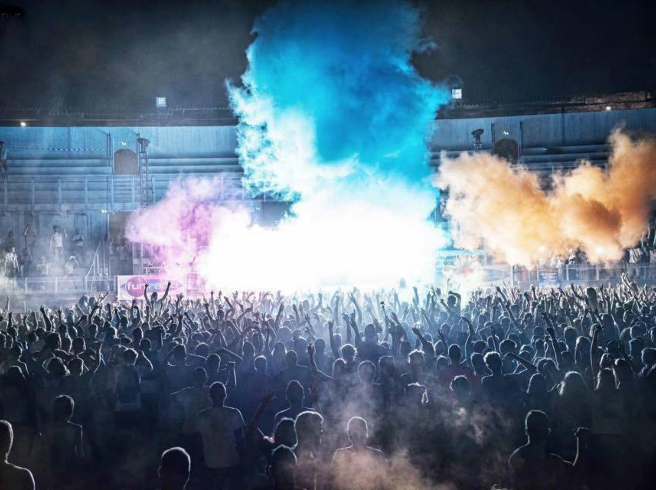 color summer festival frejus
