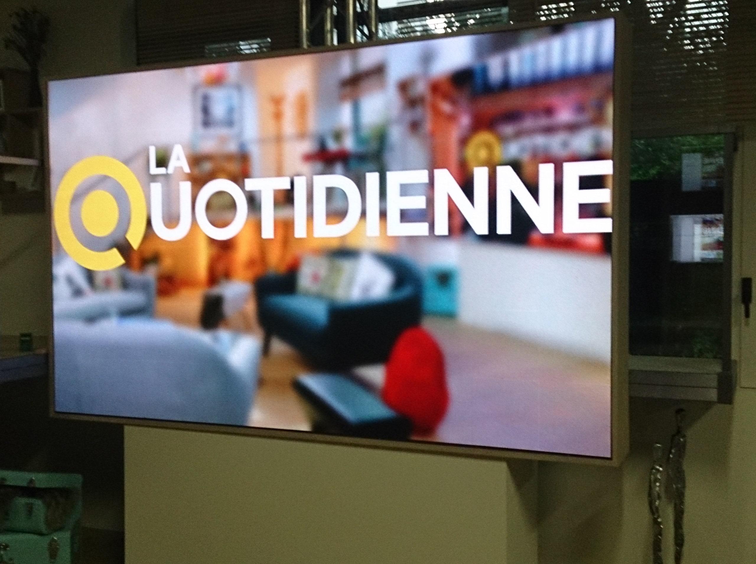 ecran LCD la quotidienne france 5